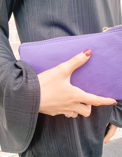 Poppy Purse (Purple)