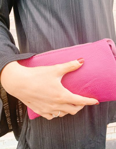 Poppy Purse (Fuchsia)